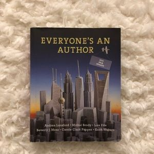 Other - Everybody's a author college textbook
